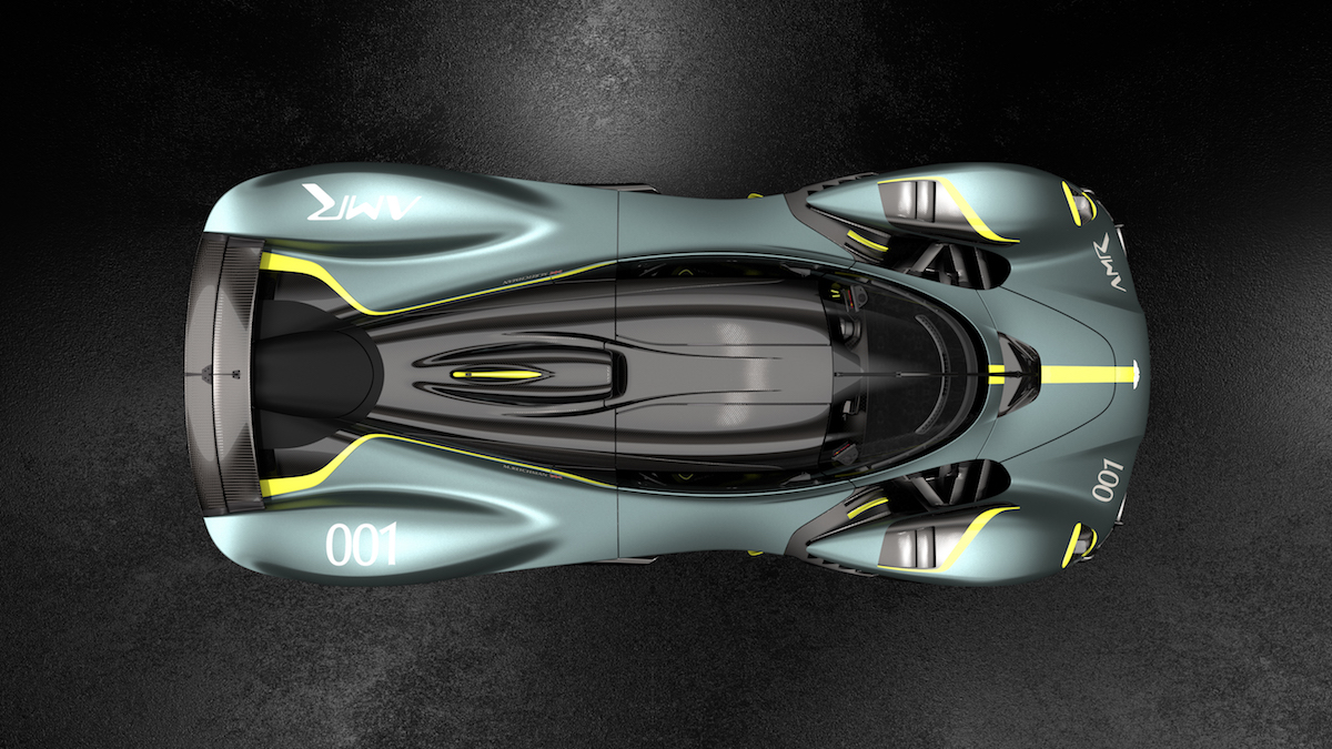 Aston Martin Valkyrie options