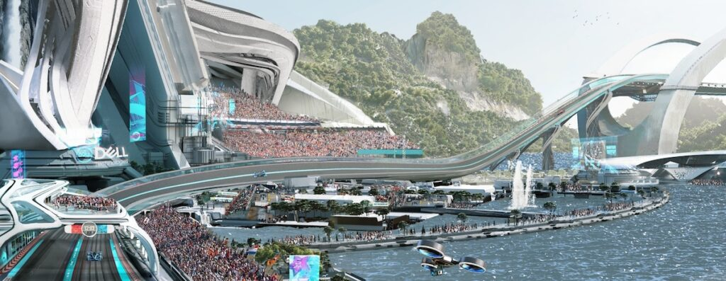 =McLaren Applied Technologies 2050 racetrack