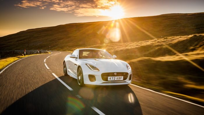 Jaguar F-Type Checkered Flag Limited Edition