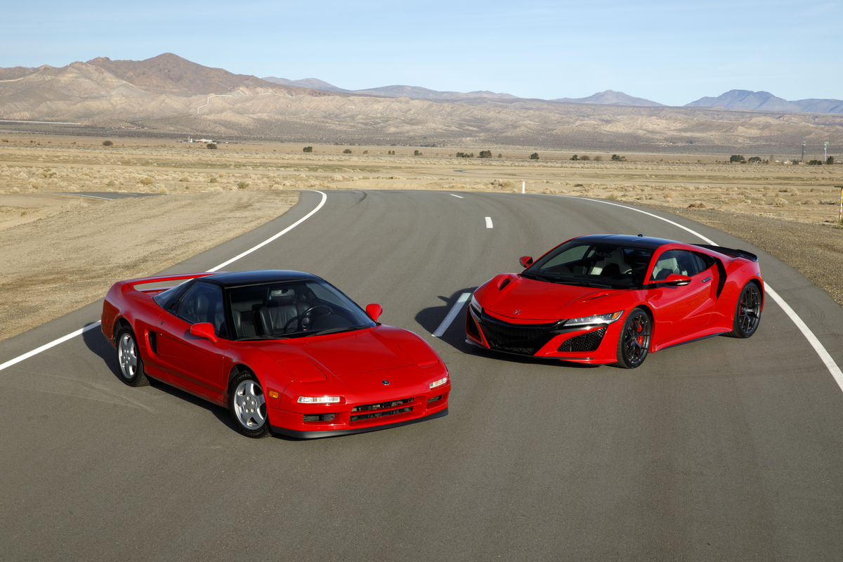 1st Generation NSX and 2019 NSX