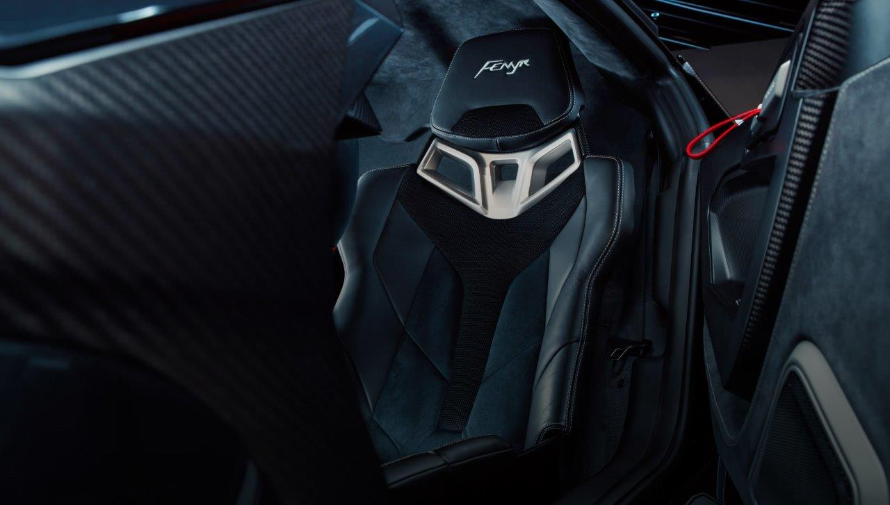 W Motors Fenyr cockpit detail