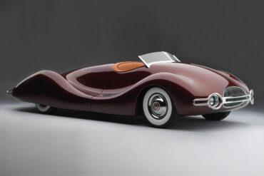 Norman E Timbs Buick Streamliner