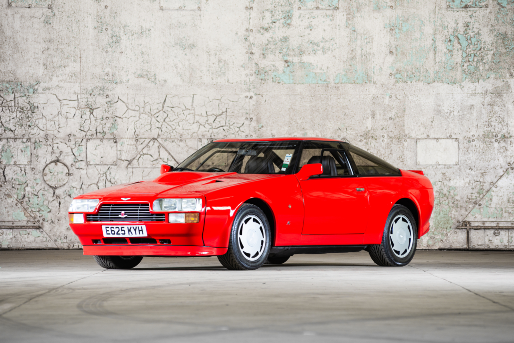 A 1986 Aston Martin V8 Zagato Prototype Is Now For Sale News Supercars Net