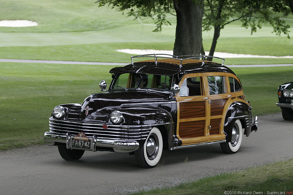 Chrysler Town & Country 'Barrelback' Wagon