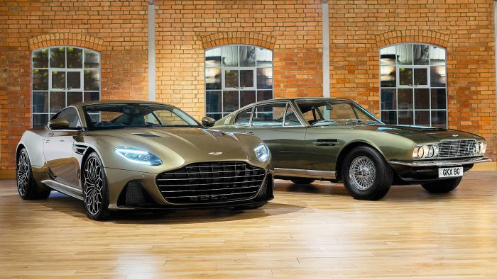 On Her Majesty's Secret Service DBS Superleggera