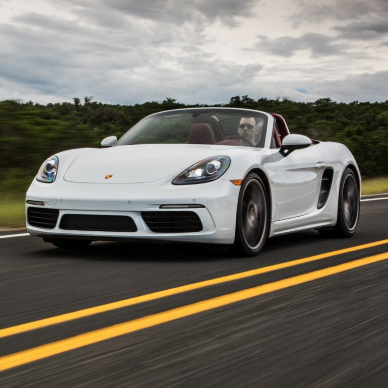 2021 718 Boxster S