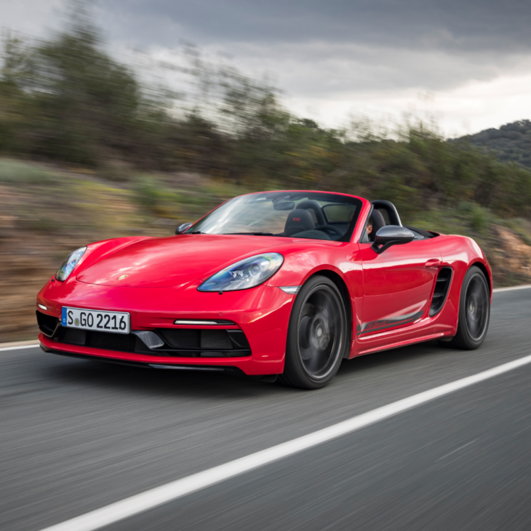 2021 Boxster T