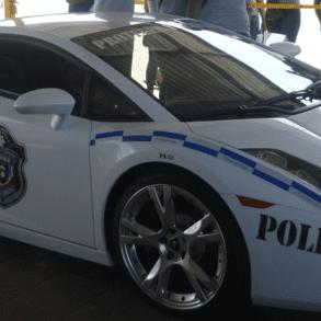 Lamborghini Gallardo Panama police car