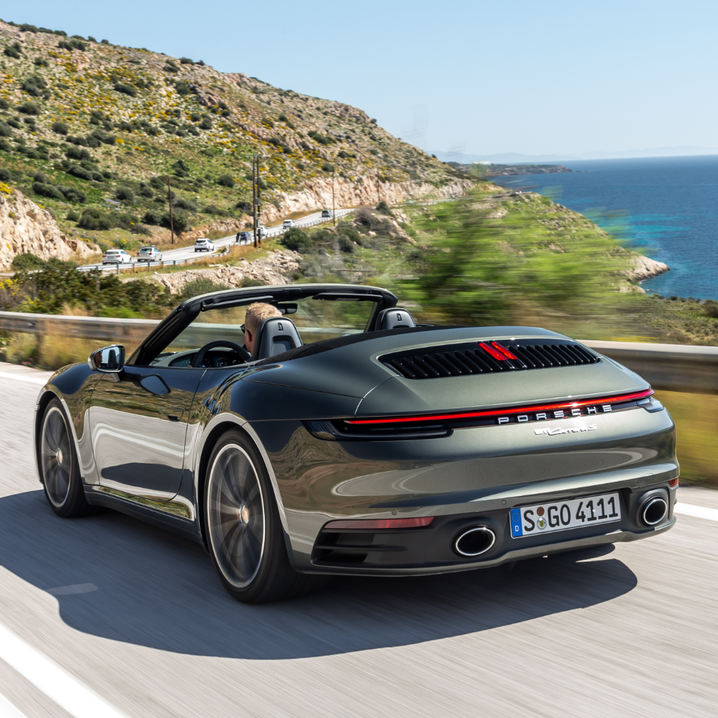 New 911 Carrera S Cabriolet