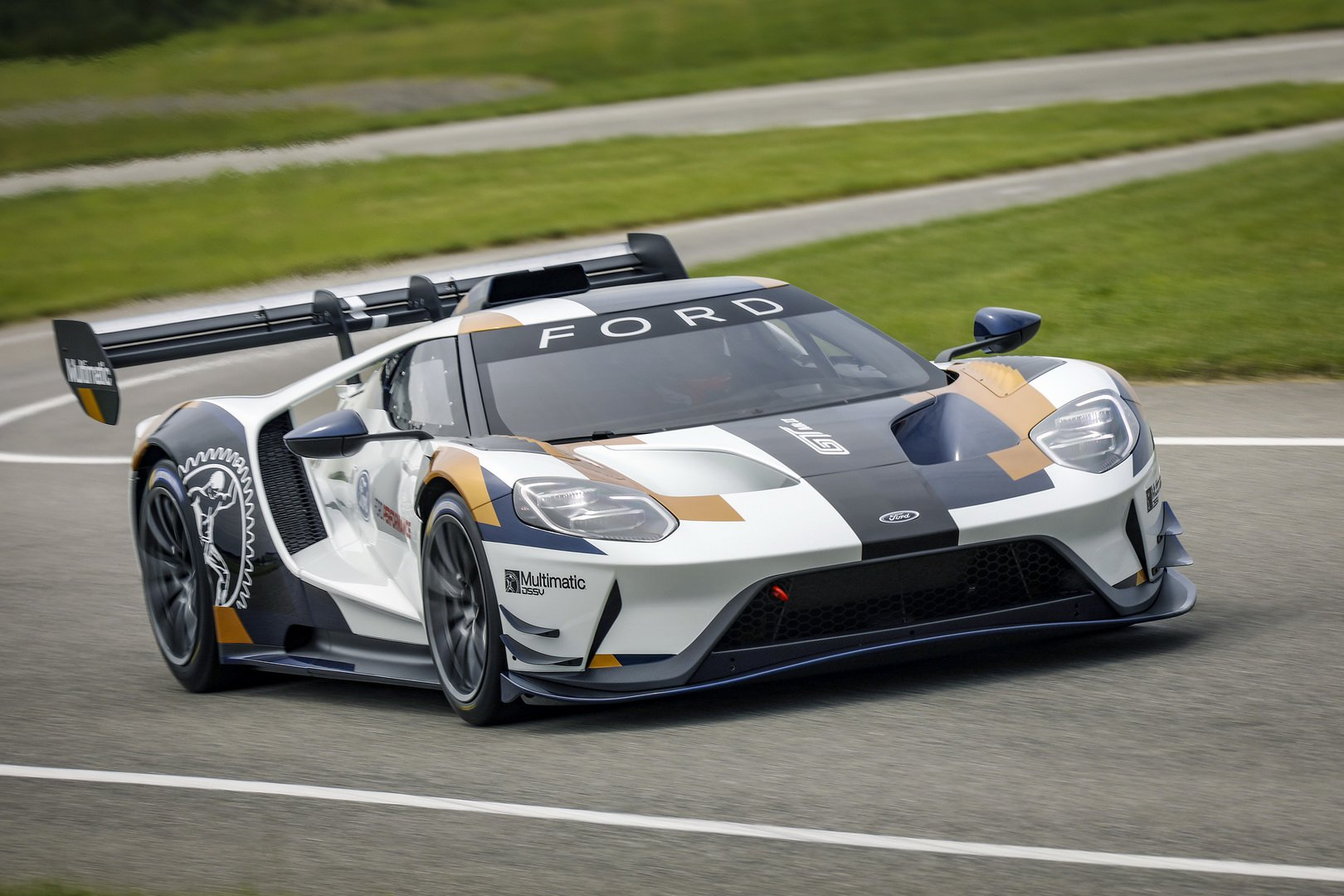 ford launched  gt mk track  supercar  goodwood ford supercarsnet