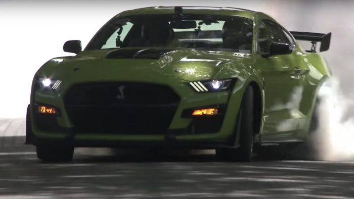 Mustang Shelby GT500 at Goodwood
