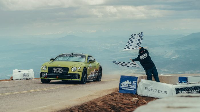 Bentley Continental GT Pikes Peak Record 2019