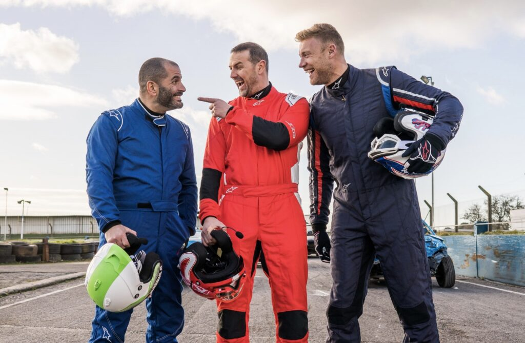 top gear Chris, Freddie, Paddy