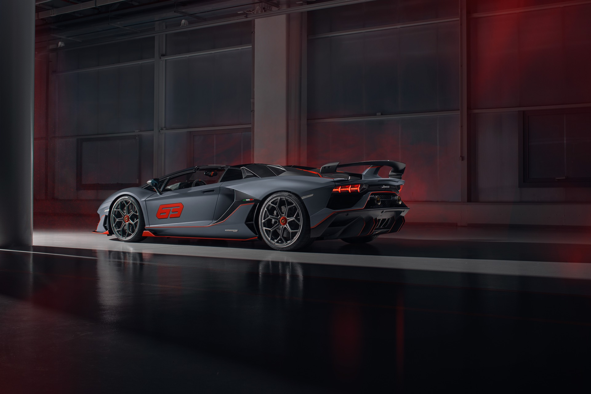 Lamborghini Reveals The Aventador Svj 63 Roadster News