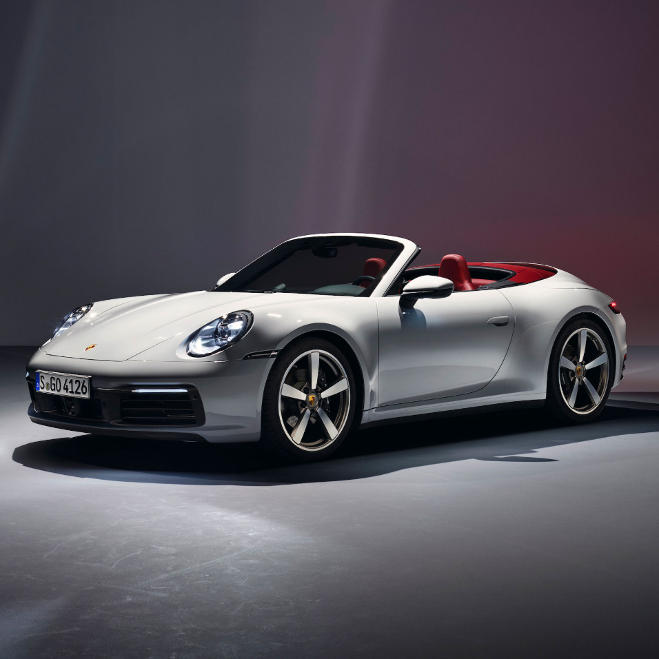 New 911 Carrera Cabriolet