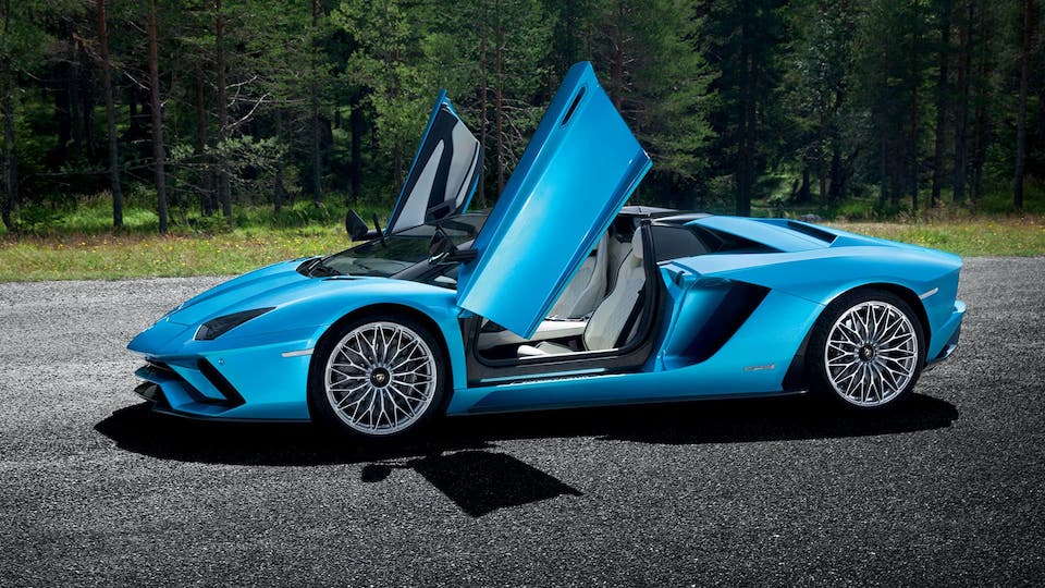 Lamborghini Aventador Lurento luxury car rental