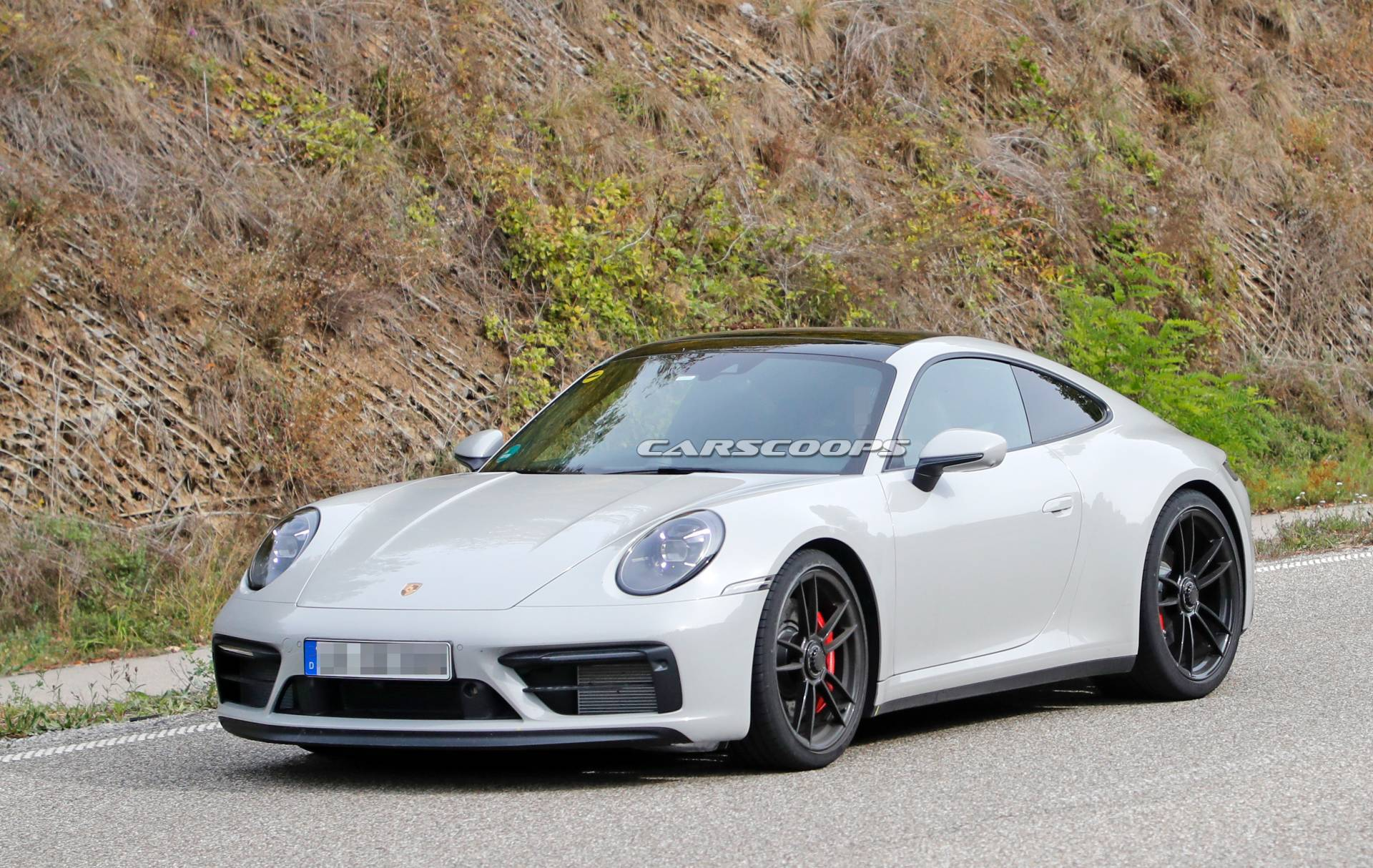 2020 Porsche 911 GTS Spotted Without Camo