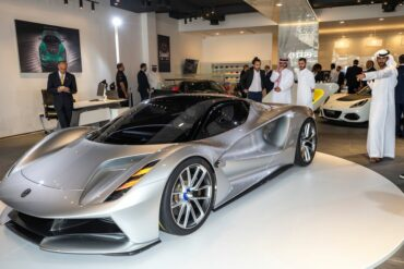 Lotus Evija in the Middle East