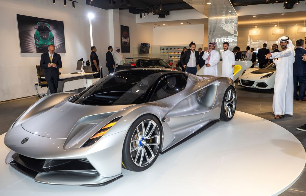 Lotus Stuns In The Middle East With Evija News