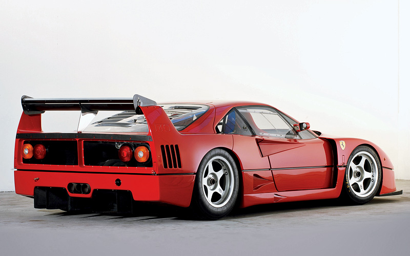 1989 Ferrari F40 Lm Guide History Specifications Performance