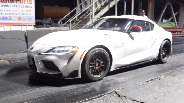 2020 toyota gr supra 9-second quarter mile