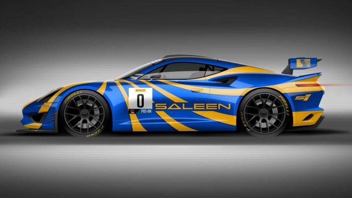 saleen gt4 concept race car