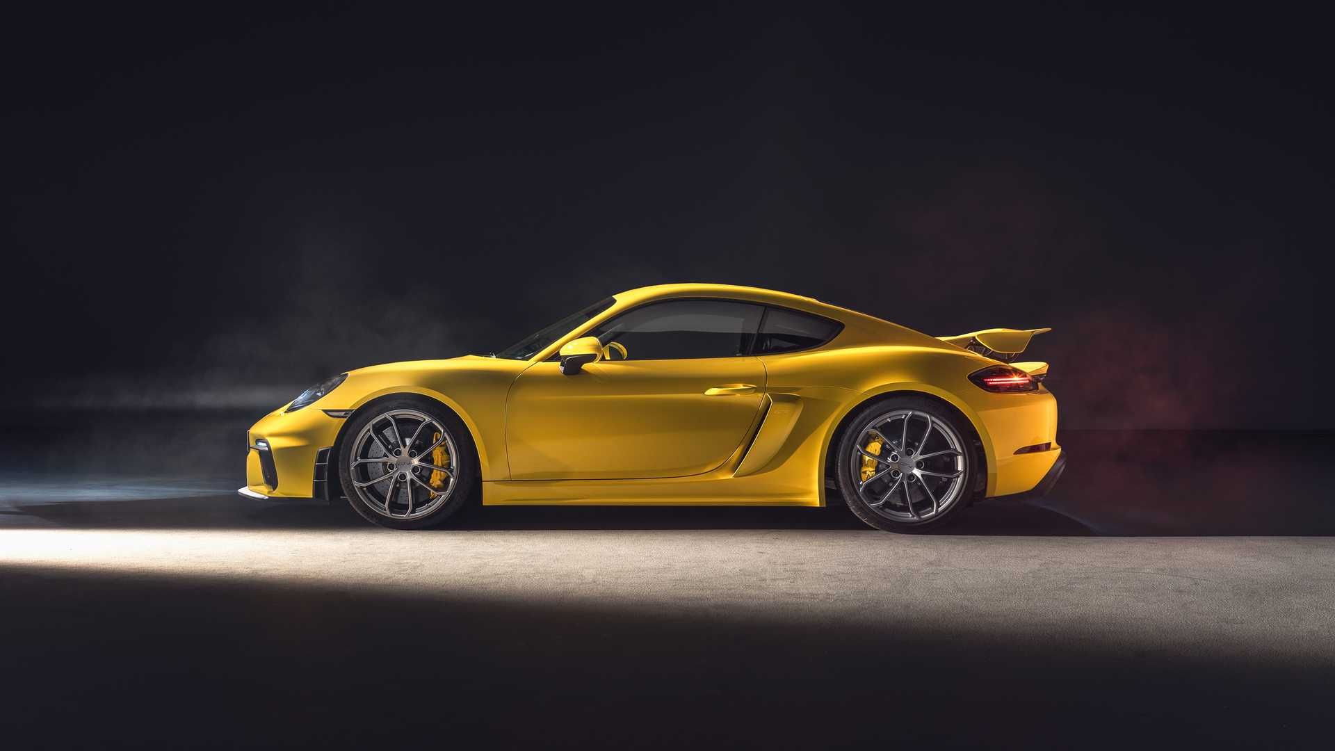 The GT4 represents the entry-level GT road model from Porsche