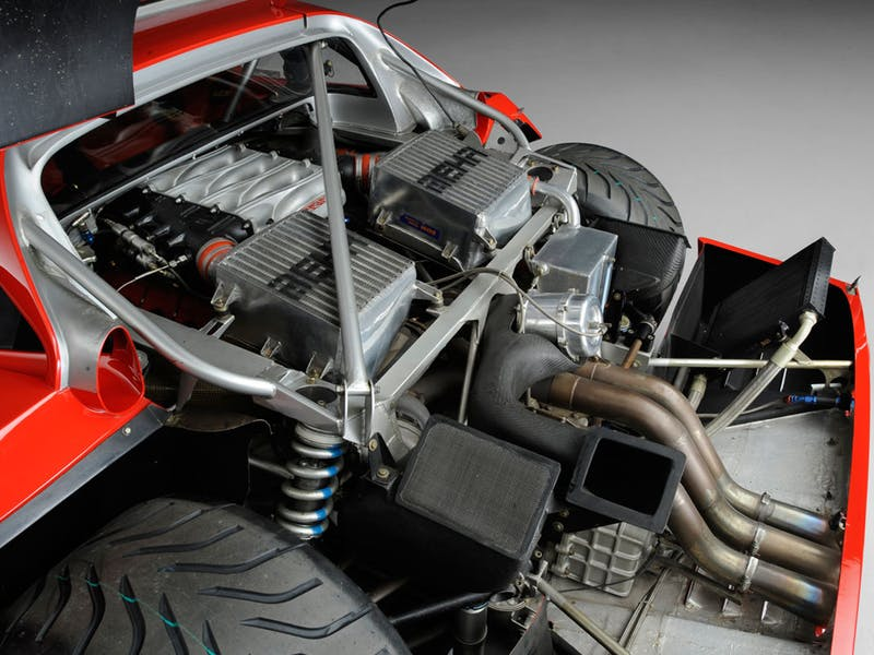 1989 Ferrari F40 LM engine