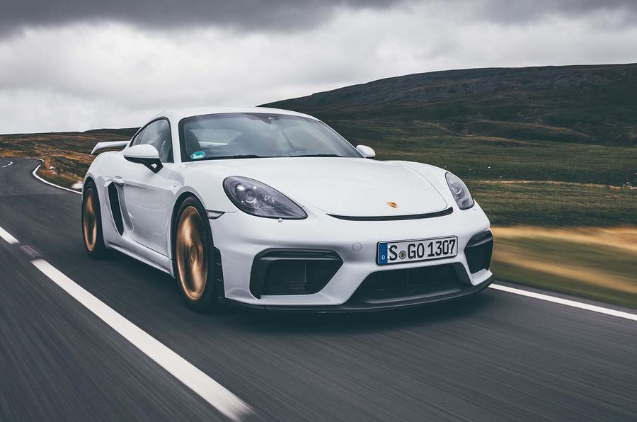 Andrew Frankel from Autocar reviews the Porsche GT4 Cayman