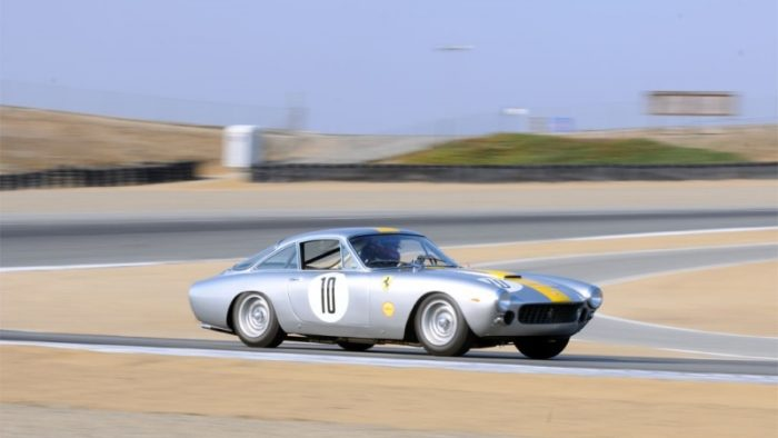 Ferrari 250 GT Lusso on the track