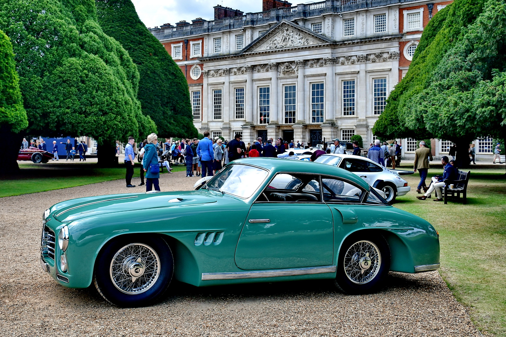 Green Pegaso Z102 from 1951