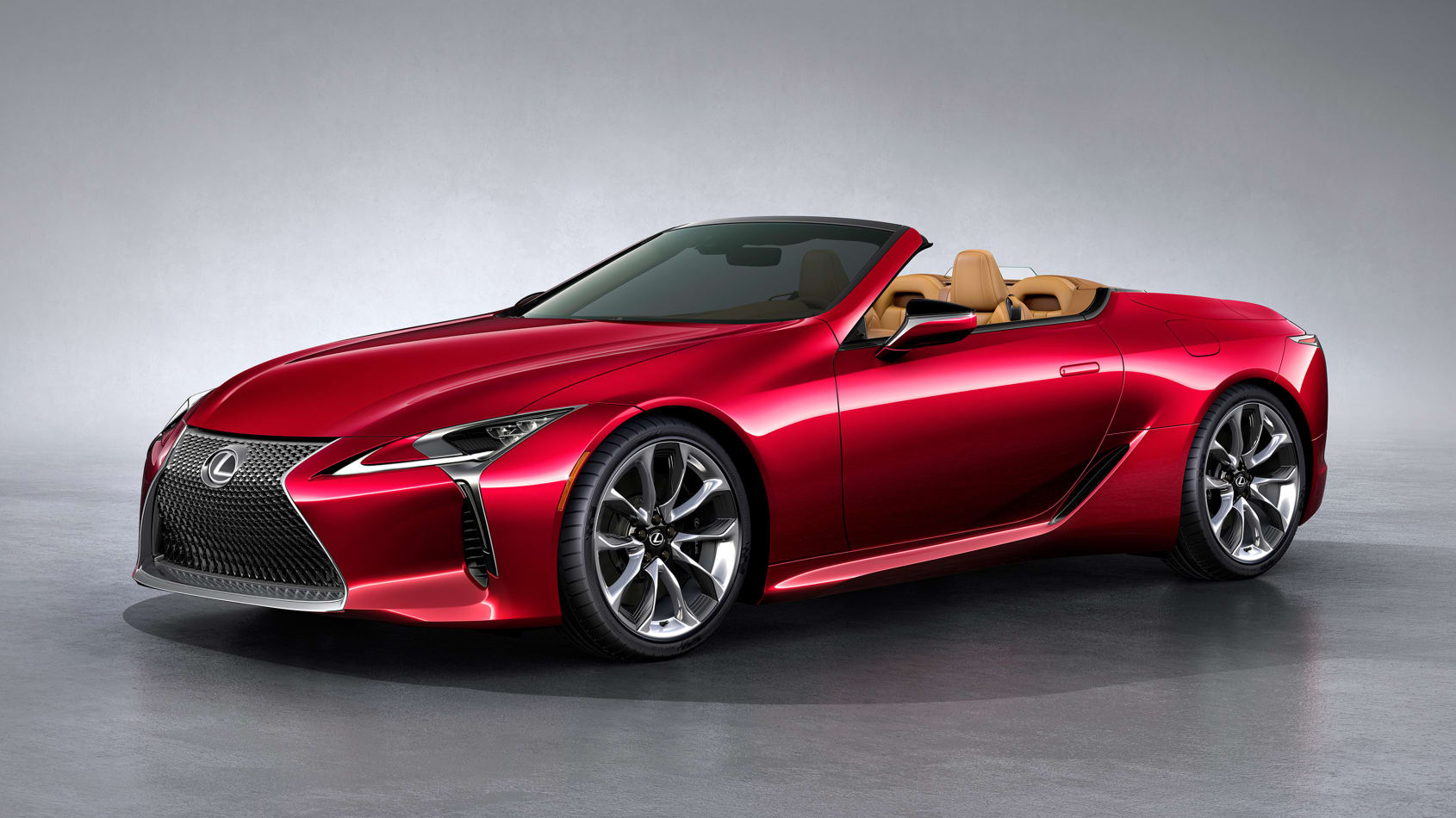 The 2021 Lexus LC500 Convertible Debuts in LA | News ...