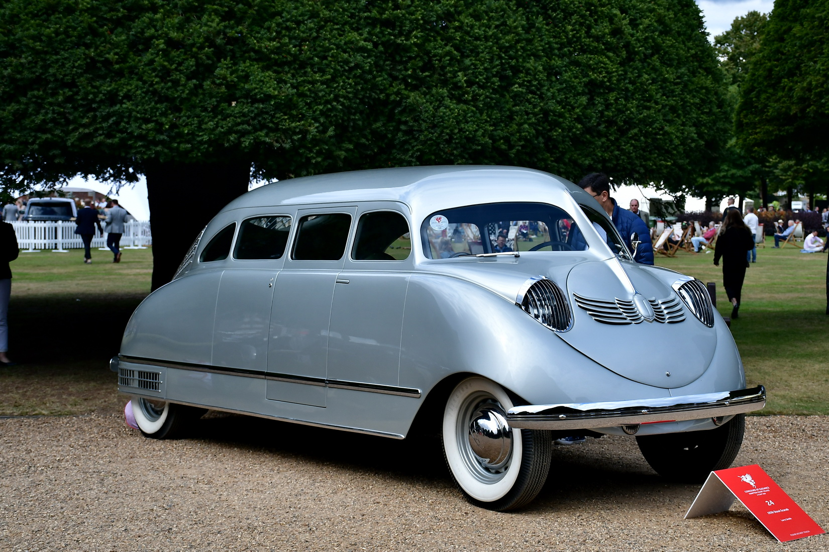 Silver Stout Scarab from 1938