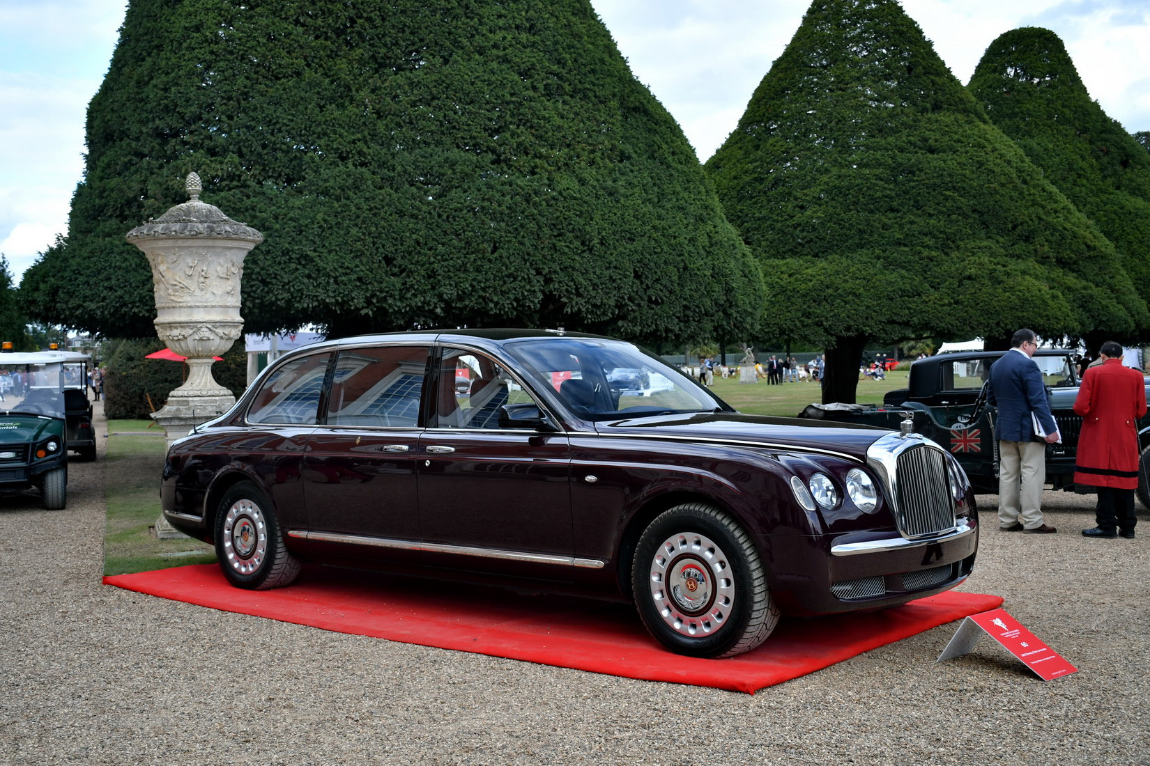 Bentley State Limousine the Queen's Official Car