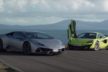 Lamborghini and McLaren