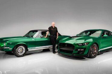 2020 Shelby GT500 Green hornet