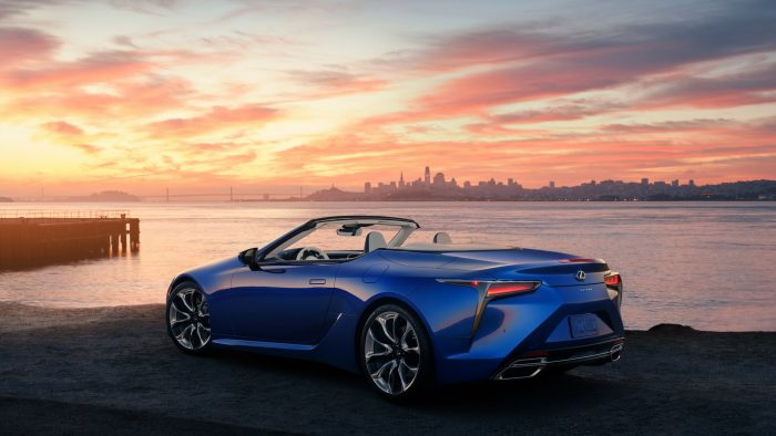 2021 Lexus LC500 Convertible Inspiration Series