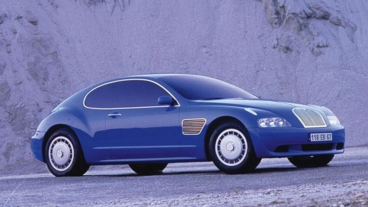 The 1998 Bugatti EB 118 Concept Car.