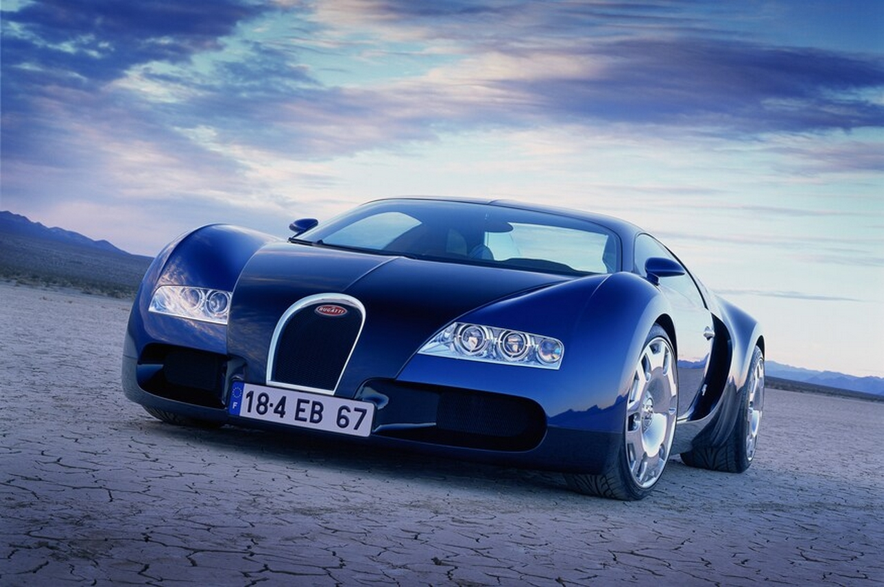 The 1999 Bugatti 18/4 Veyron Concept Vehicle
