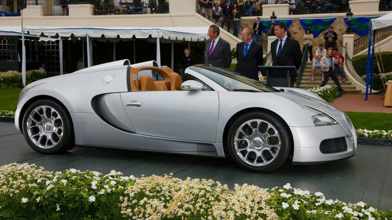 The 2008 Bugatti Veyron Grand Sport