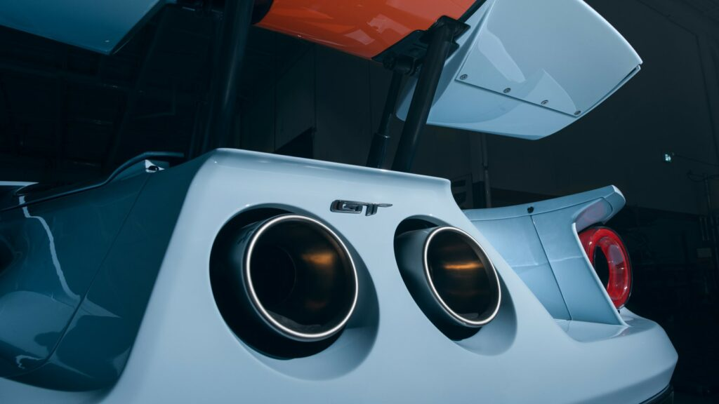 2020 Ford GT Akrapovic exhaust