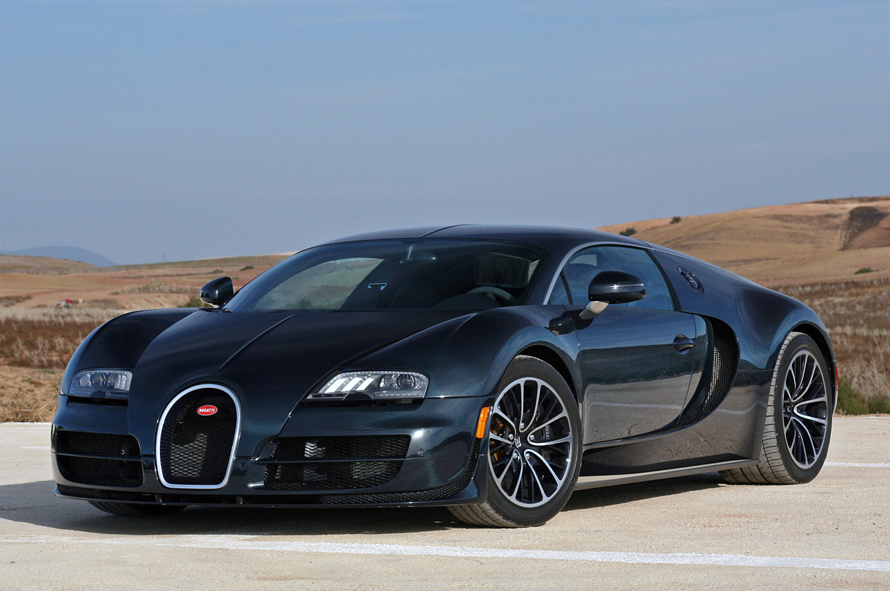 The 2011 Bugatti Veyron Super Sport