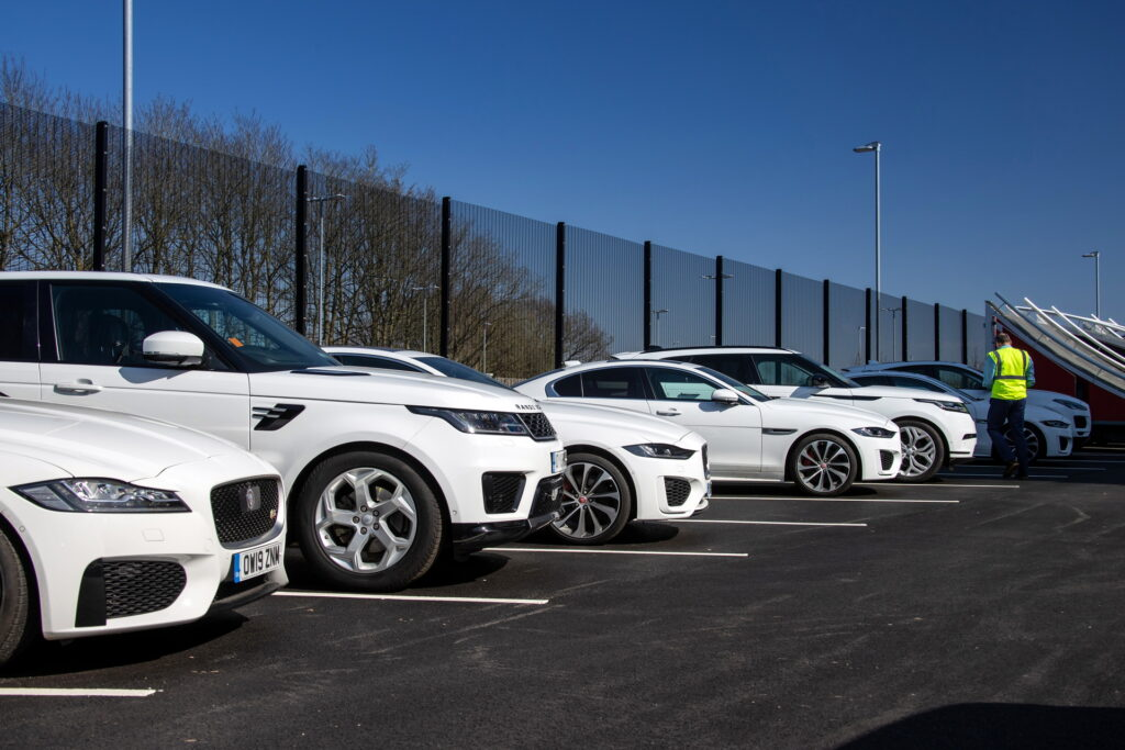 JLR deployment of vehicles for COVID-19