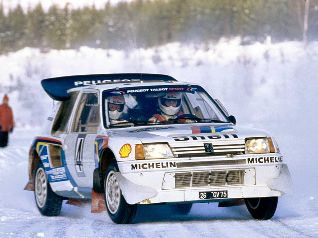 1985 Peugeot 205 T16