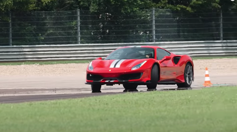 Best of Ferrari's Latest Supercars Being Spanked