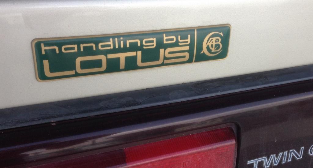 Handling by Lotus Mk I MR2 badge