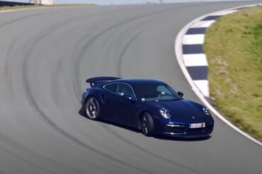 Tim Schrick drives the 2020 Type 992 911 Turbo S