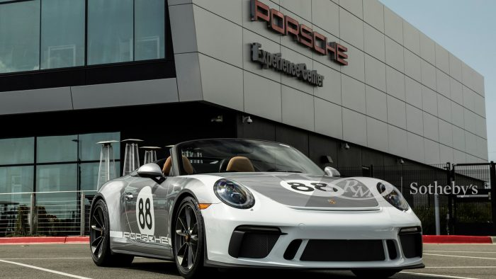 Final Porsche Type 991 911 Speedster