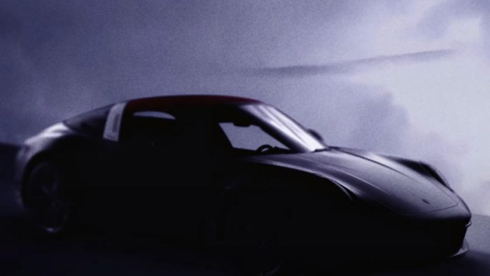 Porsche Type 992 911 Targa teased