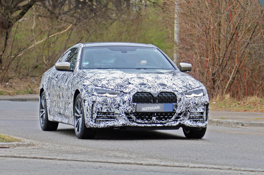 BMW 4 series coupe testing